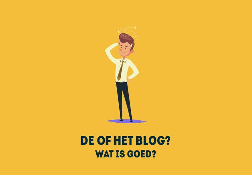 Hoe schrijf je blog?