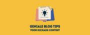Schrijf betere blogs met deze 3 blog tips
