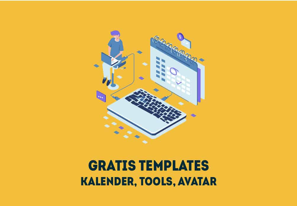 Gratis social media marketing templates