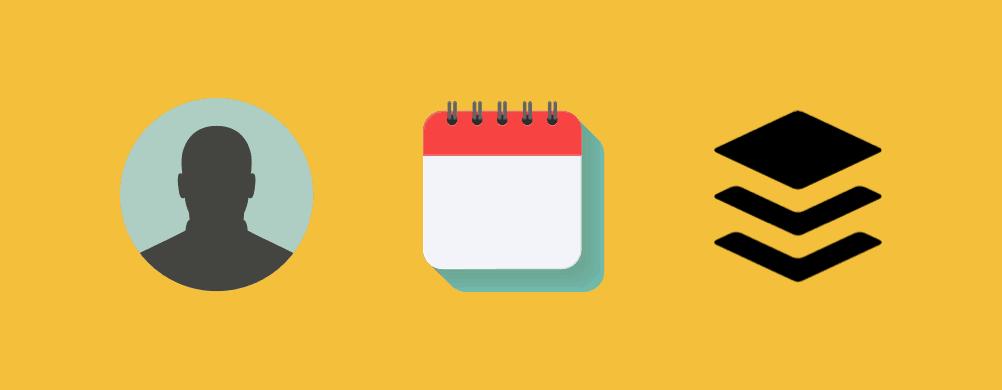 kalender template voor social content