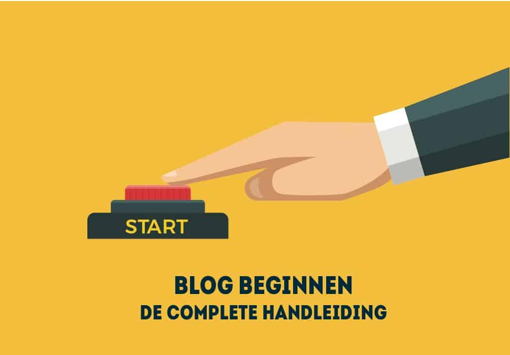 Handleiding voor blog schrijven