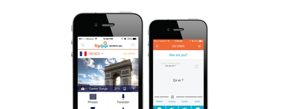 Triplingo App voor vertalen