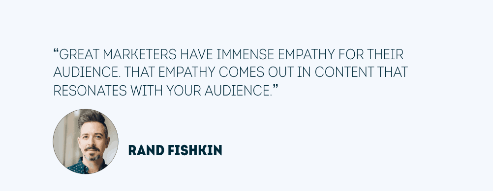 Content quote van Rand Fishkin