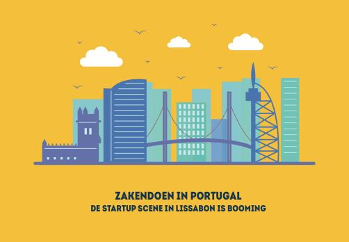 Zakendoen in Portugal, de start-up scene in Portugal is Booming