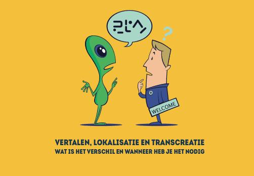transcreatie, vertalen, lokalisatie verschillen