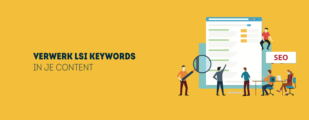 LSI keywords verwerken
