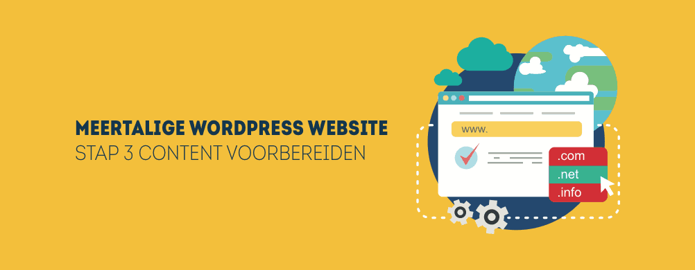 content vertalen in wordpress
