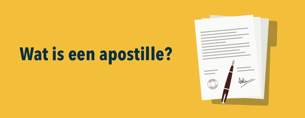 apostille voorbeeld