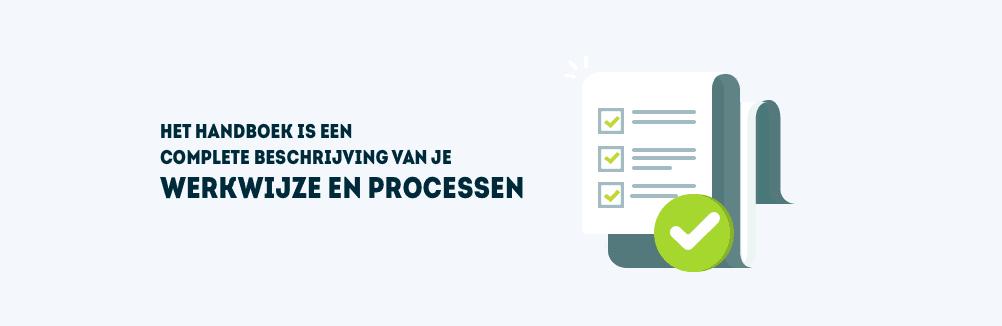 Een handboek met alle processen