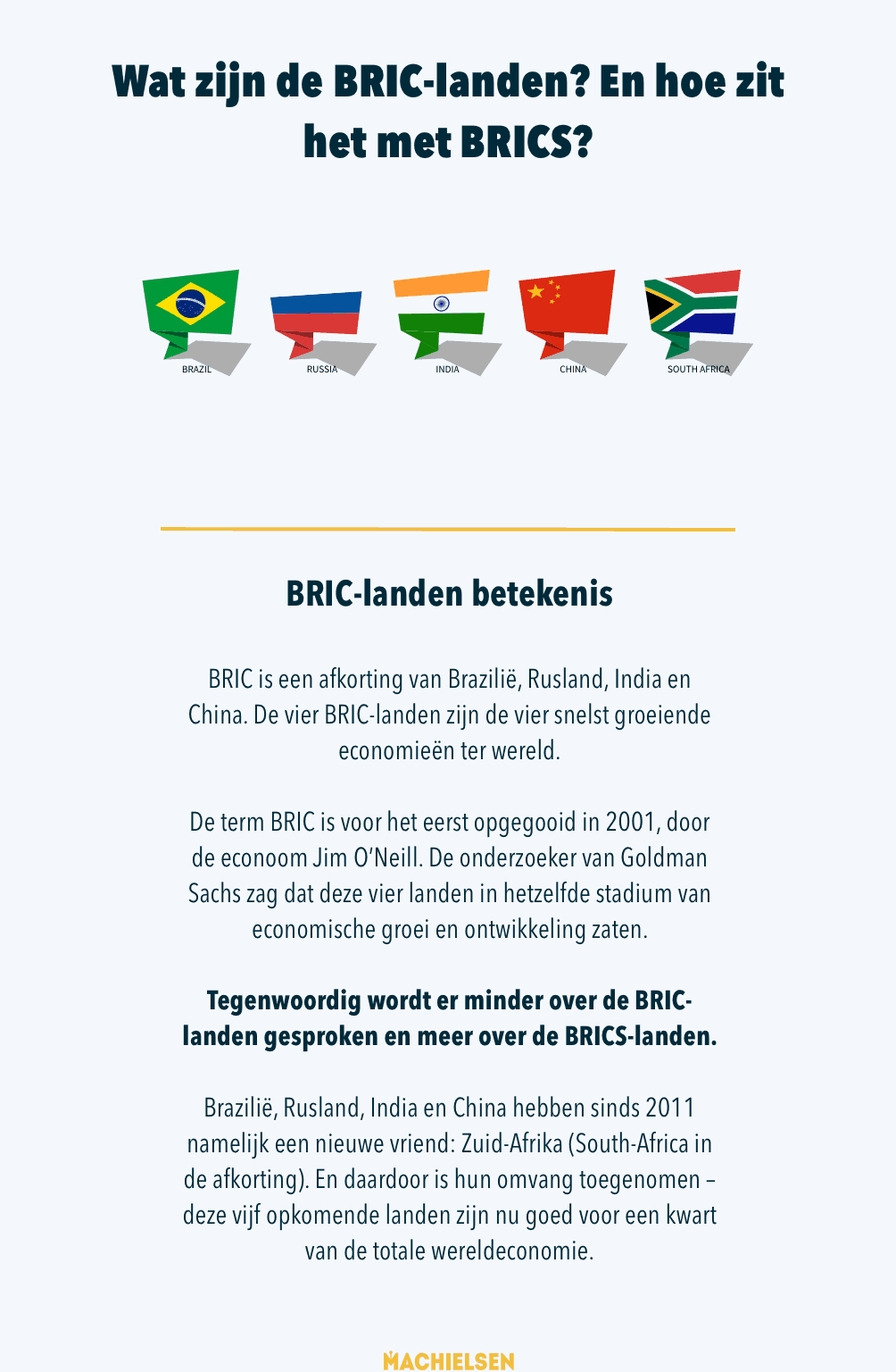 BRICS landen infographic