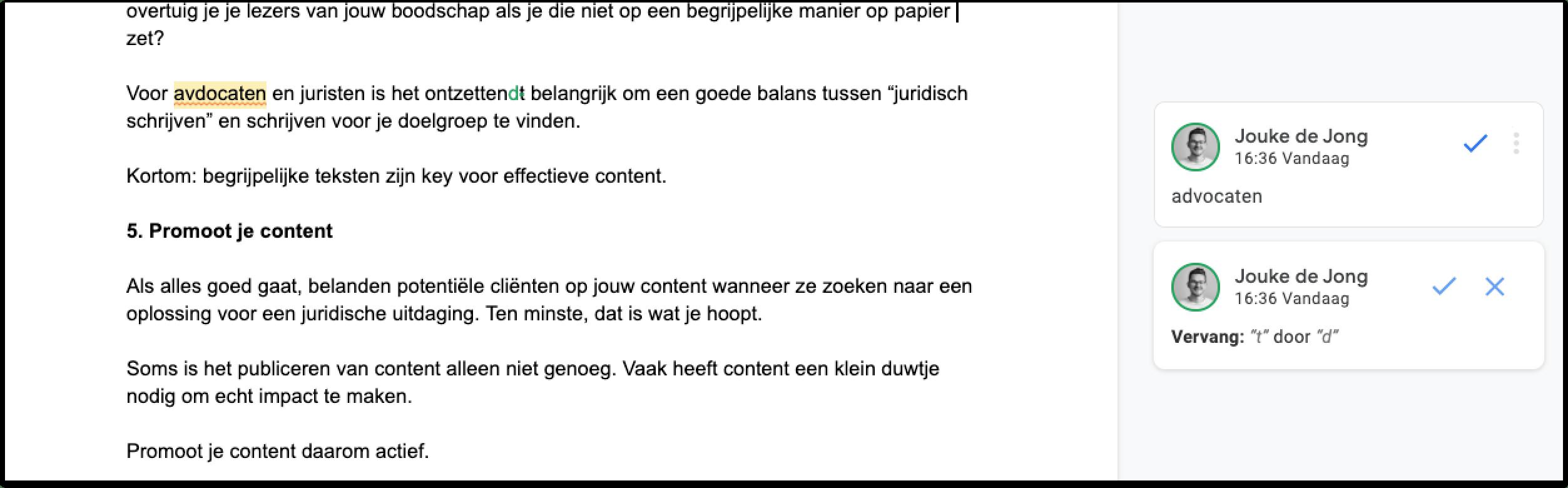 Tips voor het schrijven van content