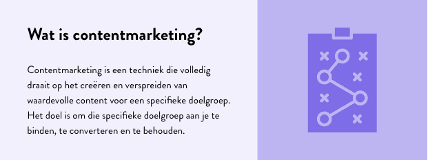 Wat is contentmarketing - definitie met informatie